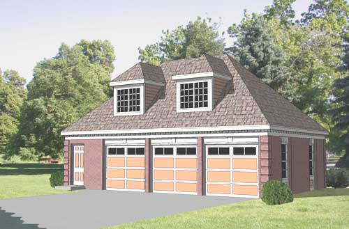 Garage LoftPlan  GL-3624